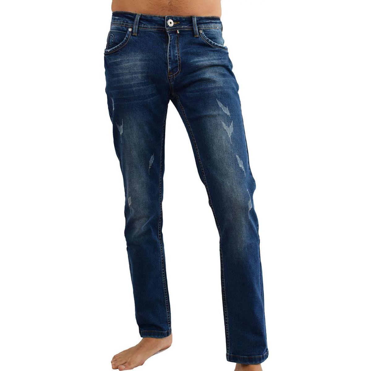 jeans homme fashion bleu fonc. Black Bedroom Furniture Sets. Home Design Ideas