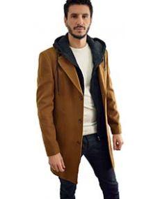 Manteau homme capuche amovible mackten