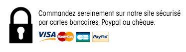 Paiements acceptés et sécurisés